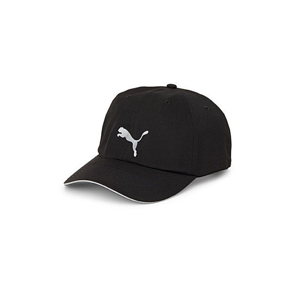 45d0f879aa8 Puma Signature logo cap ( 22) ❤ liked on Polyvore featuring accessories