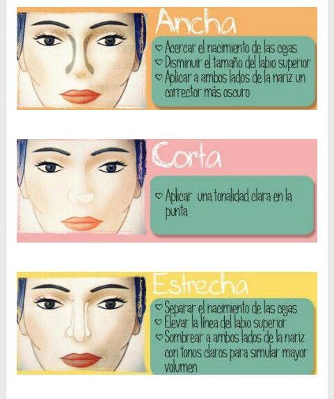 como disminuir el tamaño de la nariz con maquillaje