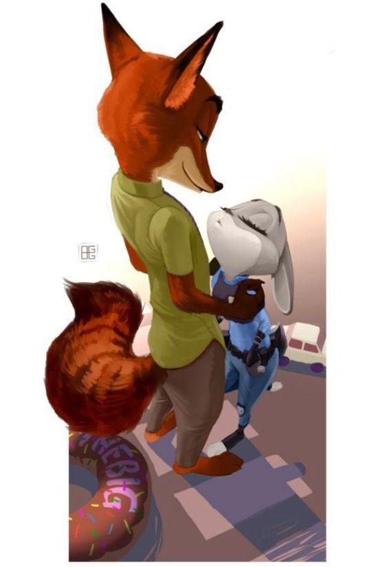 Awww nick and Judy:)