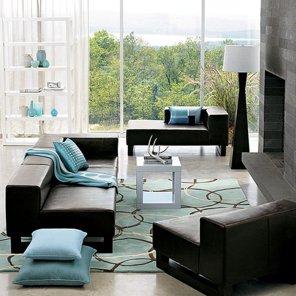 amazing affordable small living room ideas with black ...