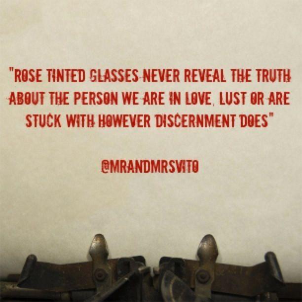 Relationship Notes: Rose Tinted Glasses(VLog)