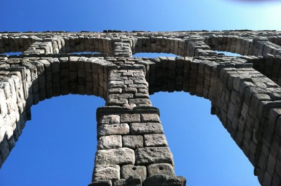 Segovia, the aqueduct. Can't believe how many years ago I was there.