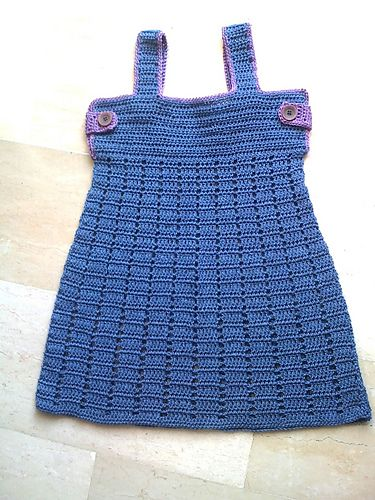 FREE!! Ravelry: Summerdress pattern by Lia Govers | BABY | Pinterest