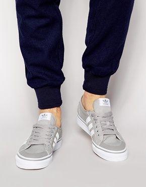 new product dcd86 07cb0 Enlarge Adidas Originals Nizza Lo Sneakers