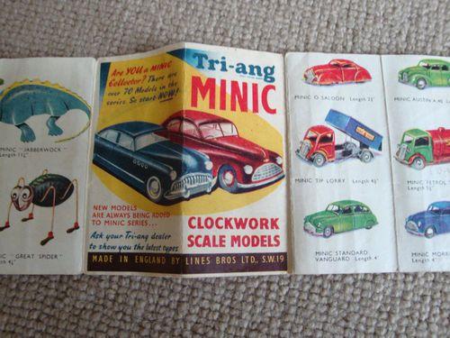 Triang Minic Catalogue