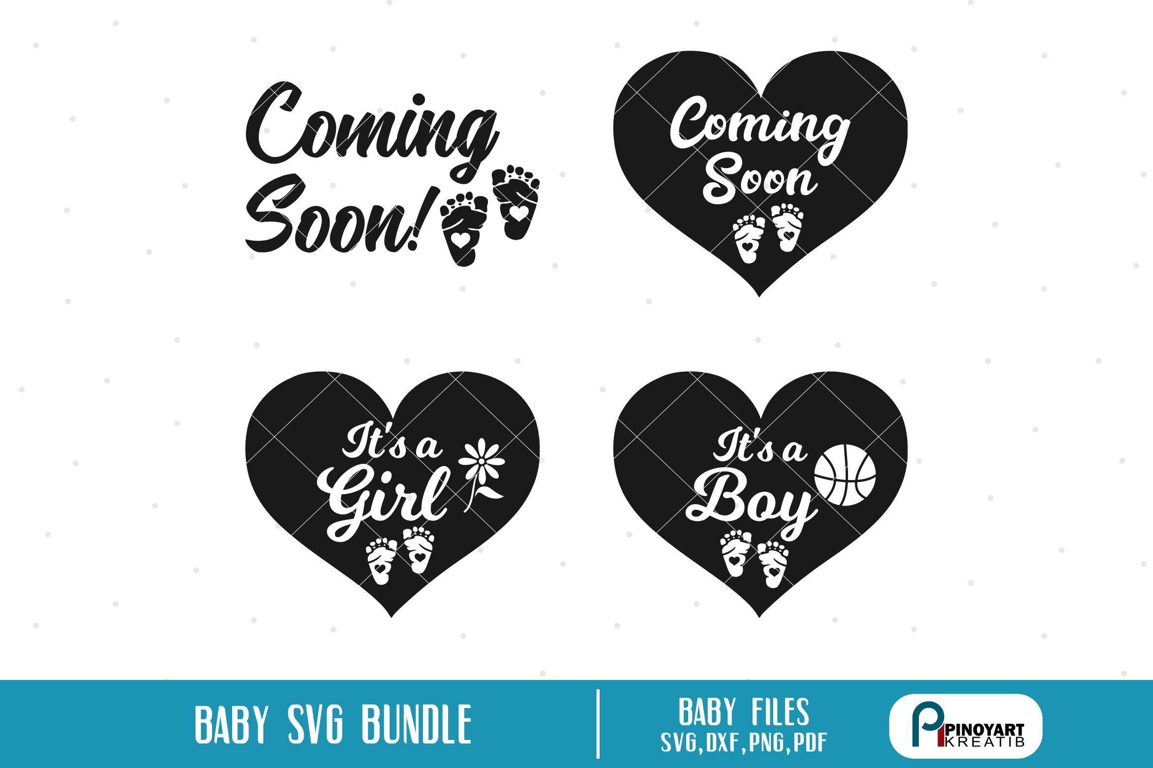 Baby svg, baby svg file, it's a girl svg, it's a boy svg