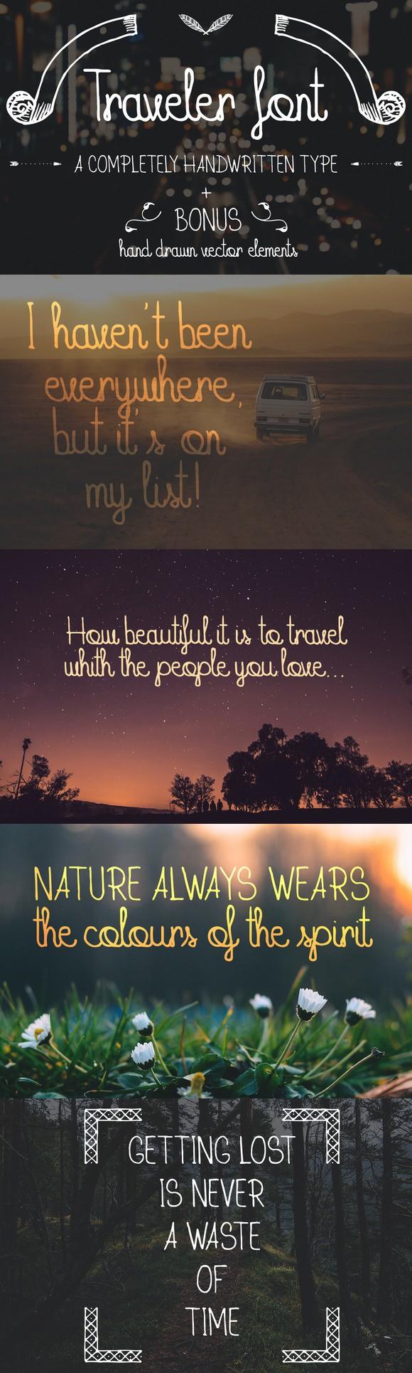 Download Traveler Font + BONUS pack | Hipster fonts, Cool fonts, Fonts