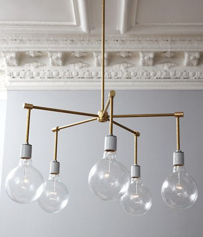 A FABULOUS DIY LIGHTING FIXTURE THAT THUMBS IT NOSE TO ALL OF THE MASS PRODUCED, LOW QUALITY WANNABEES!