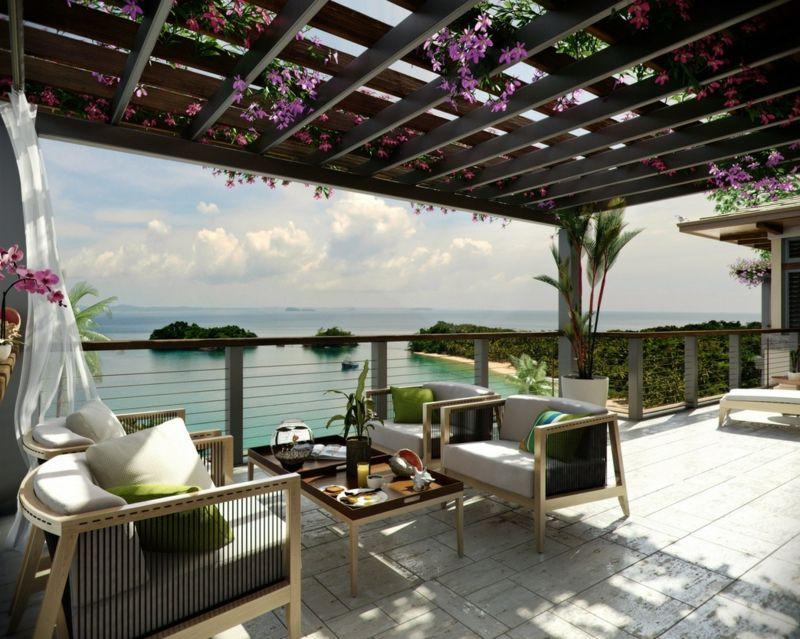terrasse modern gestalten ideen, 31 ideen für terrasse – modern gestalten und dekorieren, Design ideen
