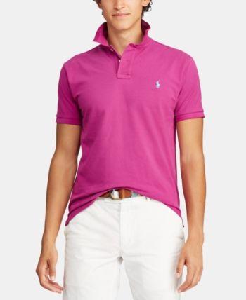 2e78d4ef5 Polo Ralph Lauren Men s Custom Slim Fit Polo - Purple S