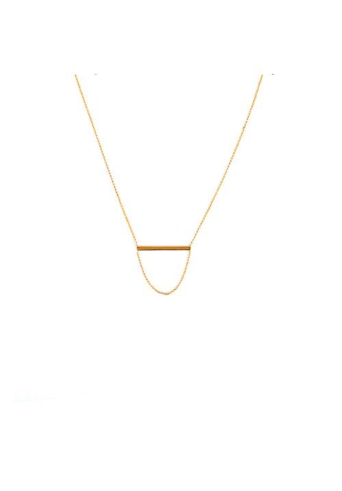 Falling Line Necklace