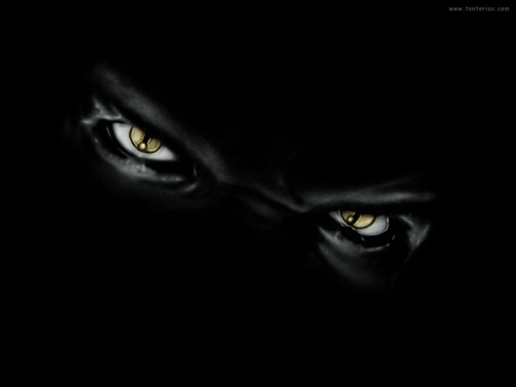 Scary Eyes In The Dark Eyes Abyss Dark Wallpaper With 1024x768