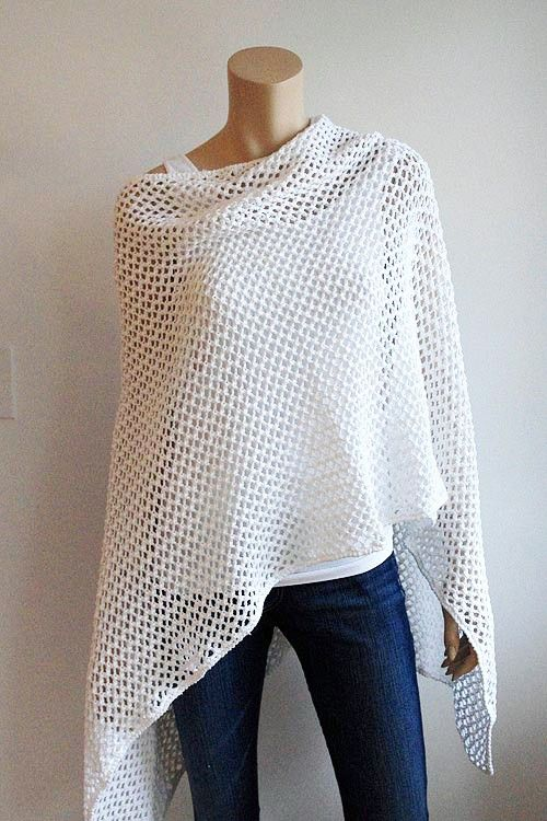Pin by April Shanks on Wraps/Sweaters & Shrugs | Pinterest | Crochet ...