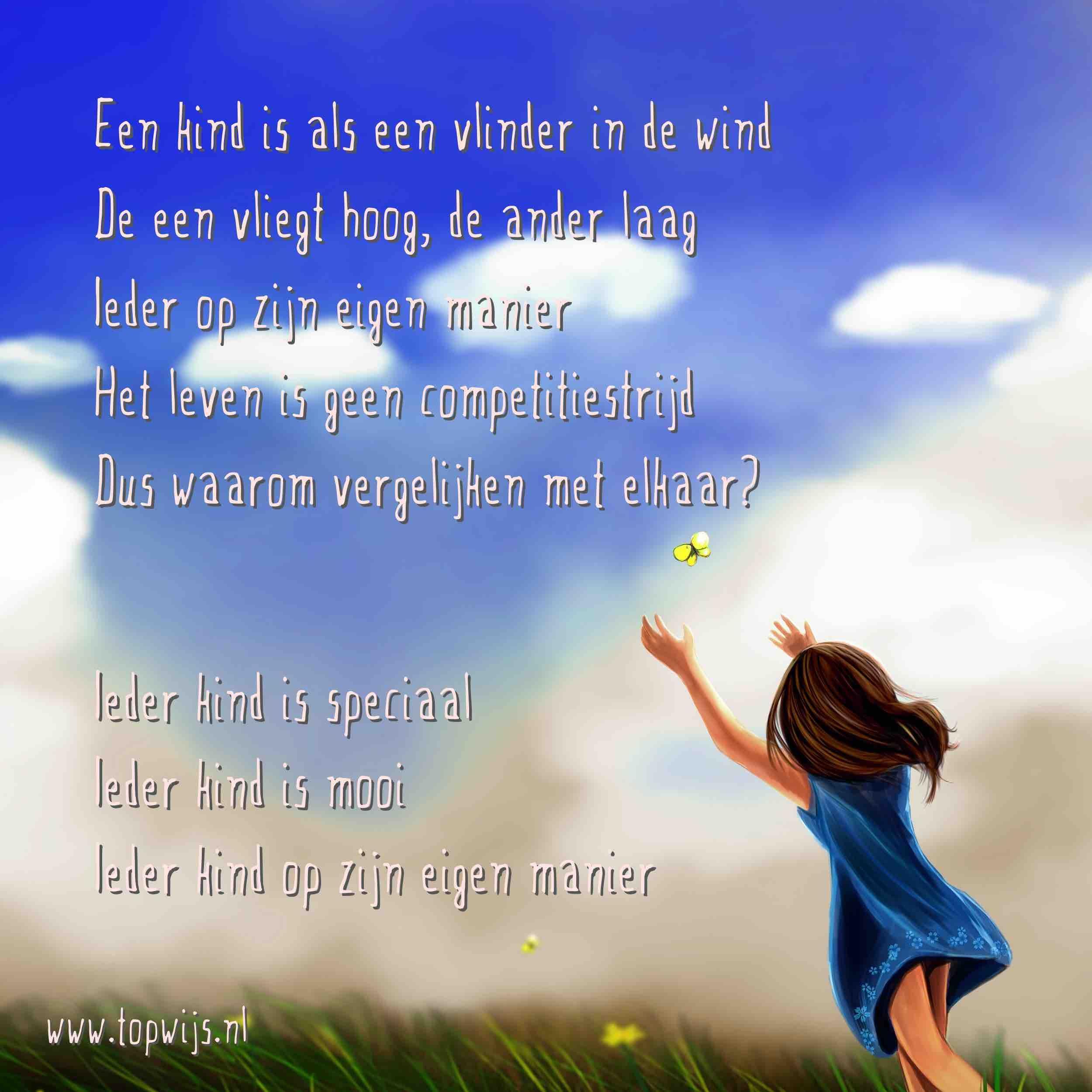Citaten Coaching : Een kind is als vlinder in de wind onderwijs