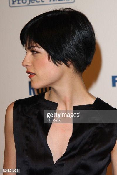 Selma Blair During Producer Brad Grey To Be Honored At Project A L S Short Hair Styles Short Thin Hair Short Dark Hair