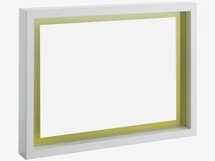 Monro A4 21 X 30cm 8 X 12 White Reversible Floating Picture Frame Floating Picture Frames Picture Frames Frame