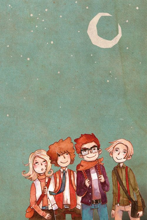 Lovely MM fan art :D Henry Ledore (far right) is my favorite Professor Layton character (Besides the obvious ones like Layton and Luke)!