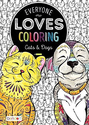 The Illustrations In This Are So Cute Everyone Loves Coloring Cats