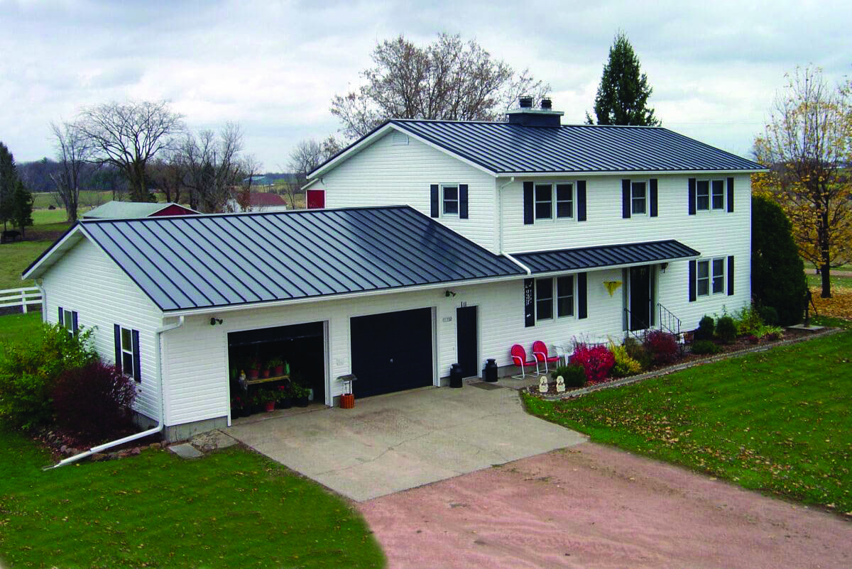 Metal Roofing Homes Tre Tin Roof House Metal Roof Cost Standing Seam Metal Roof