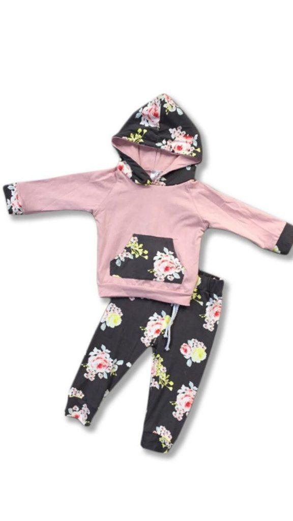 2pc Flower & Solid set A Canadian Online boutique ! TEAL ...