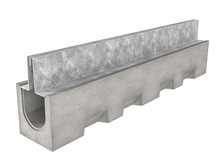 Drexus slot drain 1000mm channel and duo top for Landscape channel drain