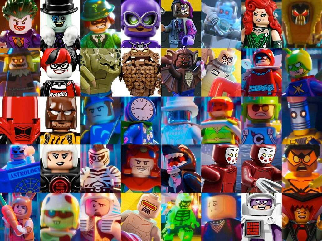 Lego Batman Movie Villains | Lego batman, Lego batman ...