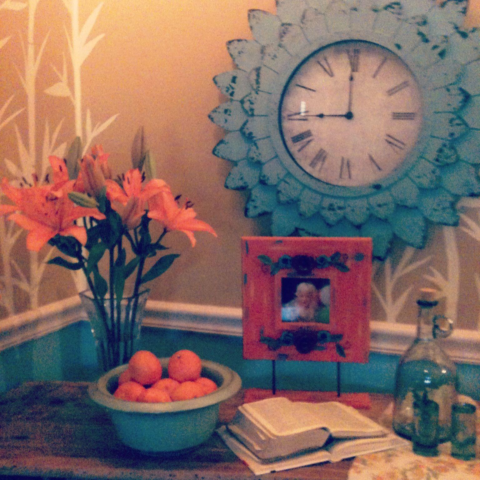 Love clock from hobby lobby