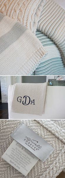 Swell Forever: Forever Blanket Heirlooms - Personalized ...