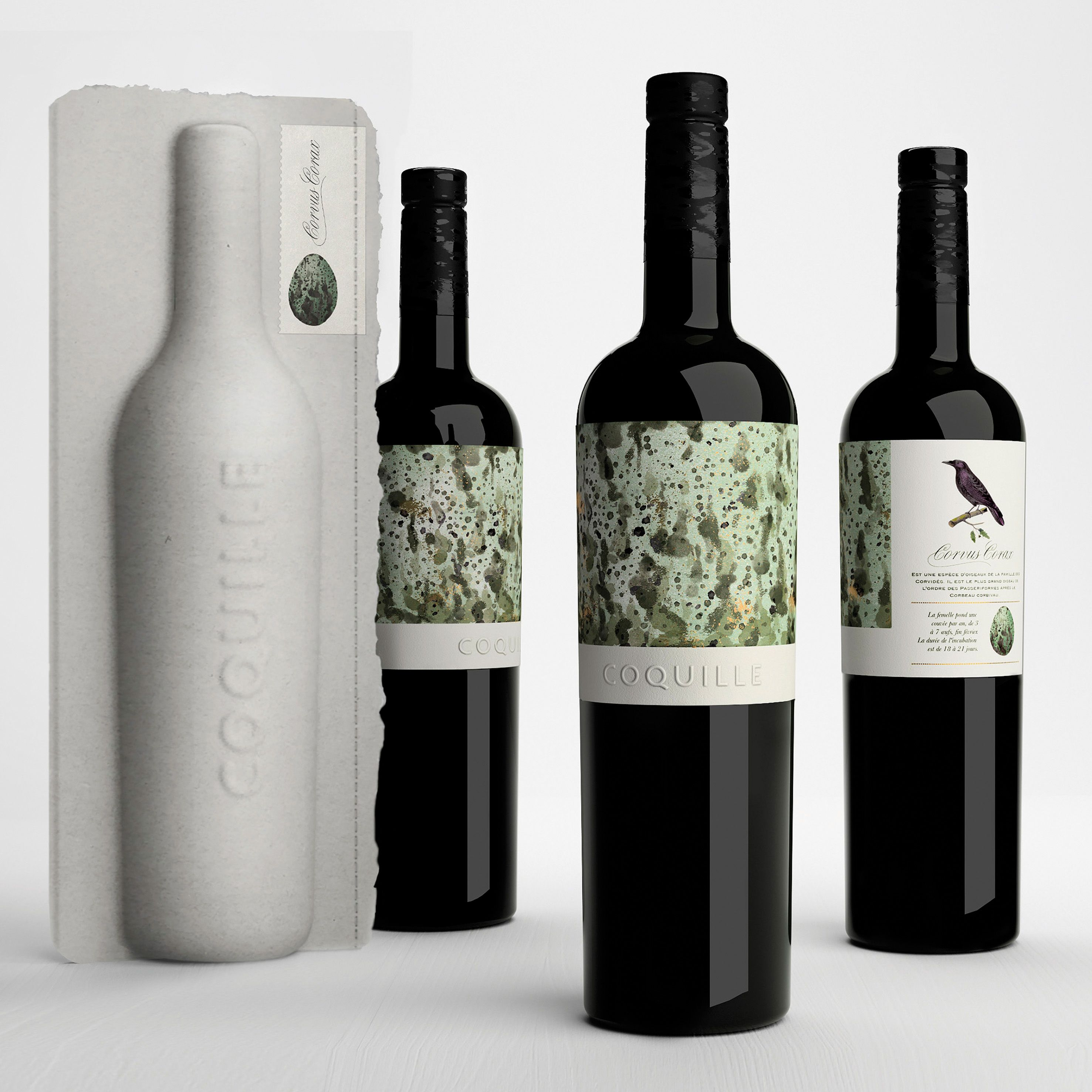 Coquille, 100% eco packaging