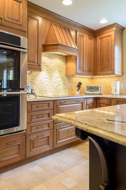 Kitchen Renovation Maple Ridge: Kitchen Remodel Shrewsbury MA Wood-Mode Cabinets