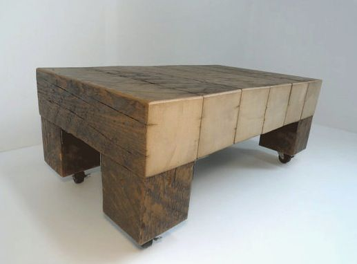 First Takes Solid Heavy Wood Coffee Table In Mickleover