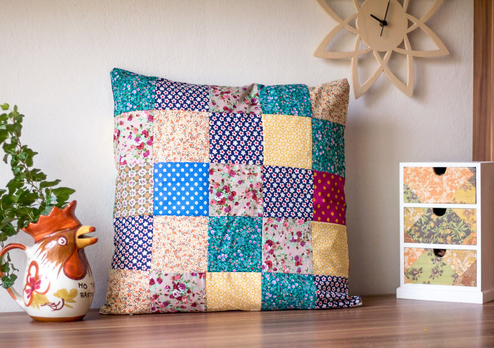 diy patchwork kissen n hen n hsachen pinterest patchwork kissen n hen und kissen. Black Bedroom Furniture Sets. Home Design Ideas