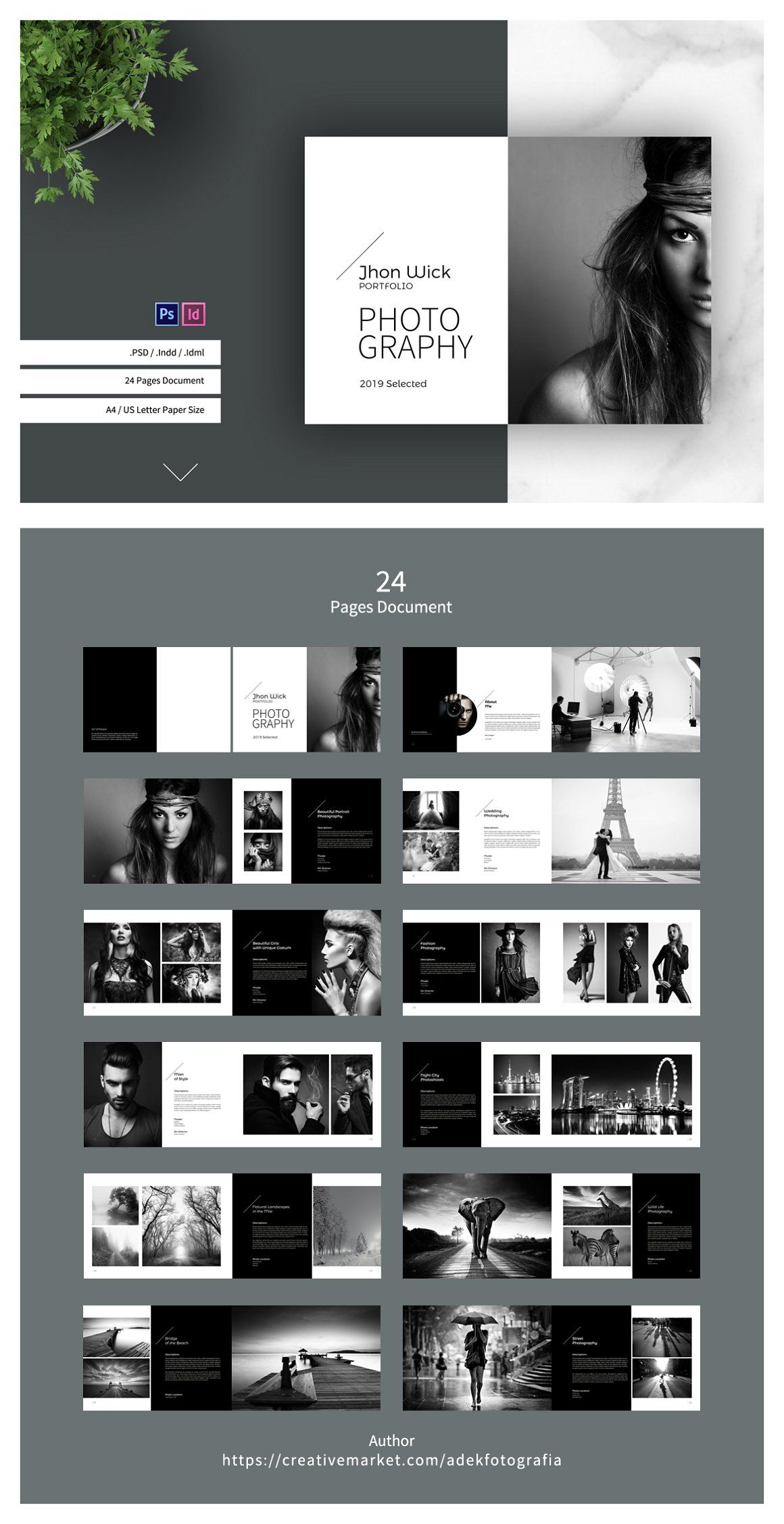 Photography Portfolio - Brochures | Design Web | Portfolio