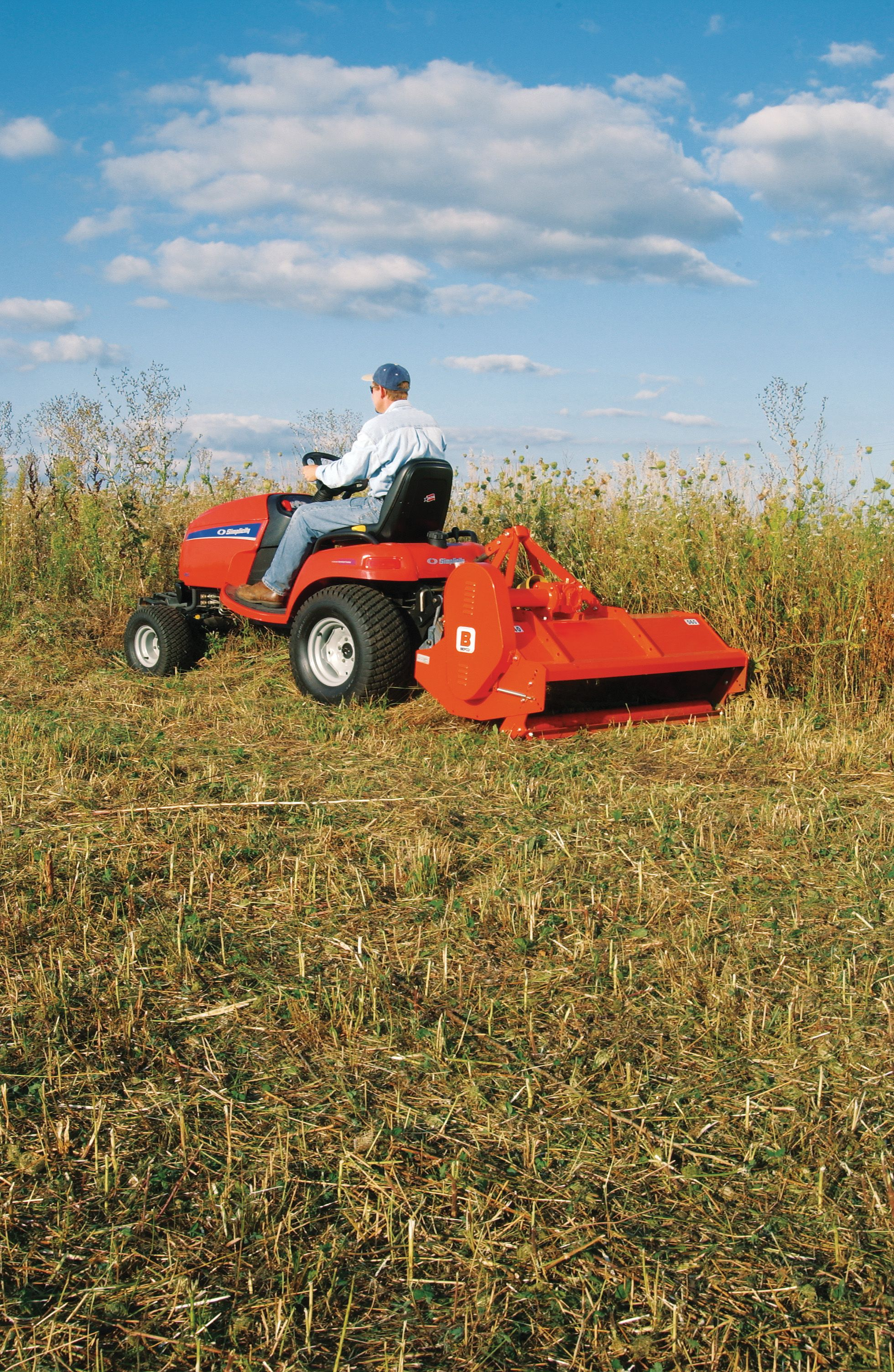 Lawn tractor attachments can make lawn care easier. | Barn ...