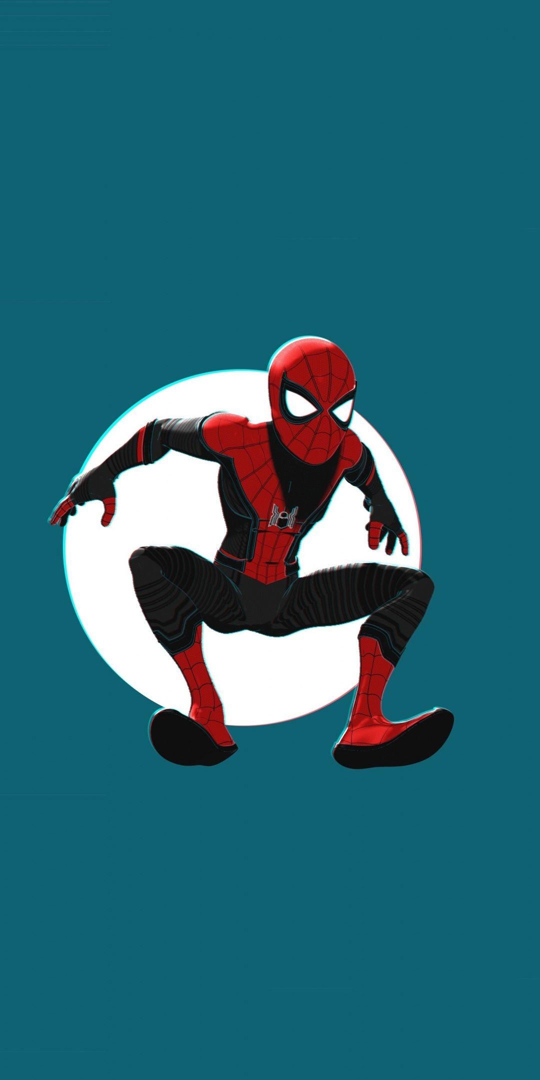 Spider Man Into The Spider Verse Movie Artwork 1080x2160 Wallpaper Superhero Wallpaper Man Wallpaper Spider Verse
