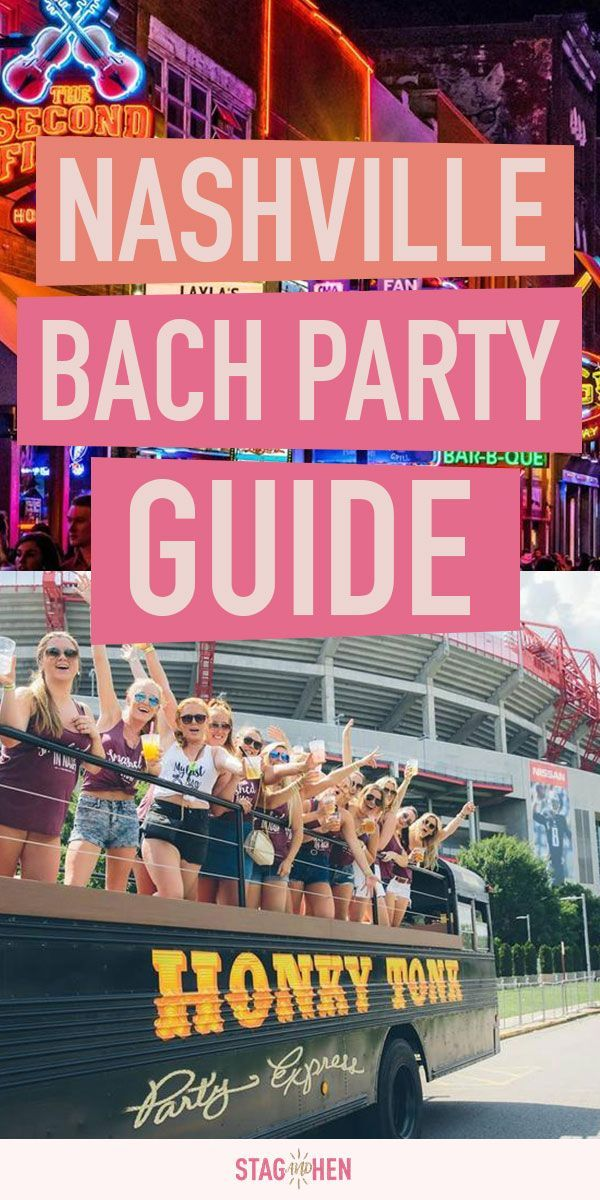 The BEST Nashville Bachelorette Party Guide | Stag & Hen