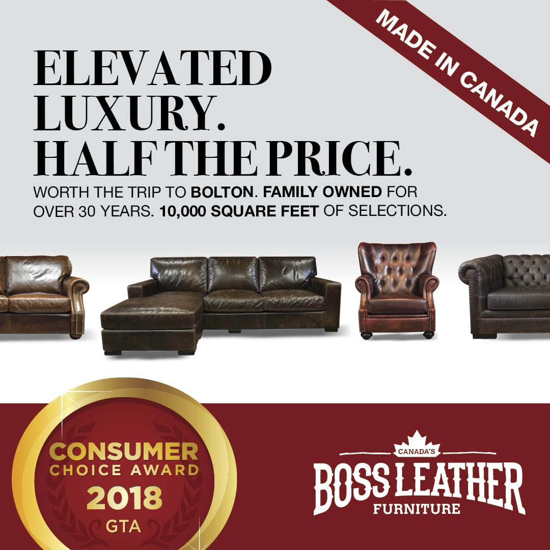 Our Custom Made Furniture And Our Service Has Earned Us This Award Winning Quality Leather Sectional Custom Leather Sofa Leather Furniture