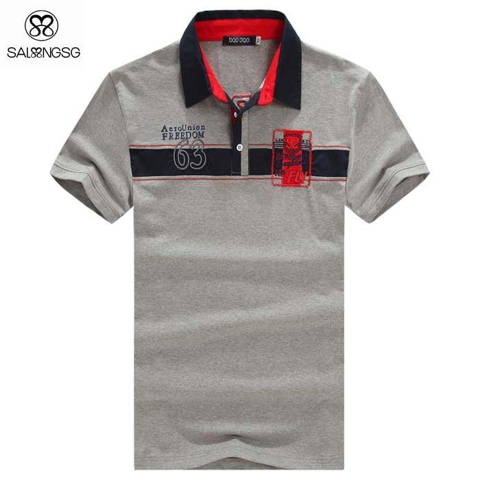 Casual Hombres Polo Camisa Marcas Solid Hombres De Color De La Ropa