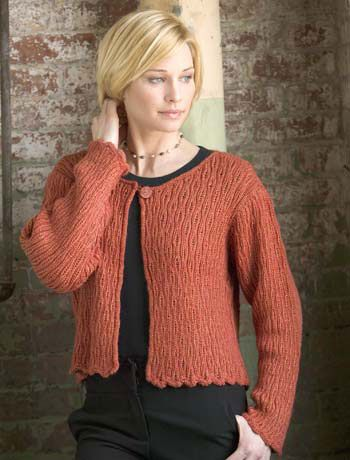 Ravelry Miracle Drop Stitch Cardigan Pattern By Sue Mccain Free