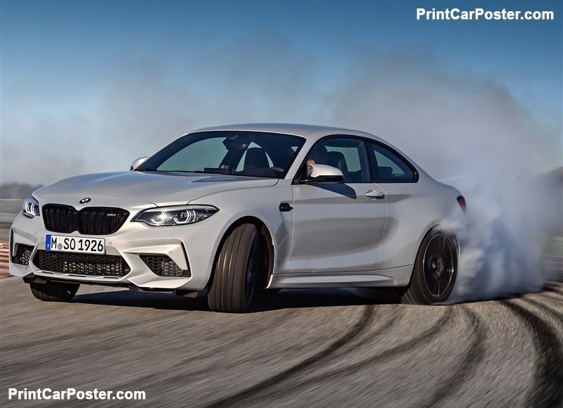 Bmw M2 Competition 2019 Poster Bmw M2 Bmw Bmw Cars
