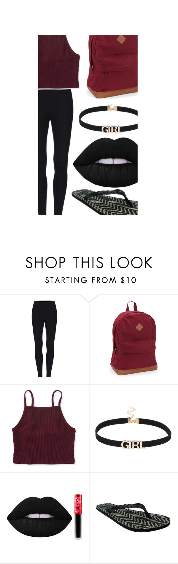 """""""$69 outfit"""" by roxy-13 ❤ liked on Polyvore featuring Aéropostale, Lime Crime and Target"""