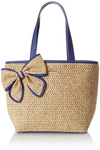 kate spade new york Belle Place Straw Summer Shoulder Bag 6ff5825385e