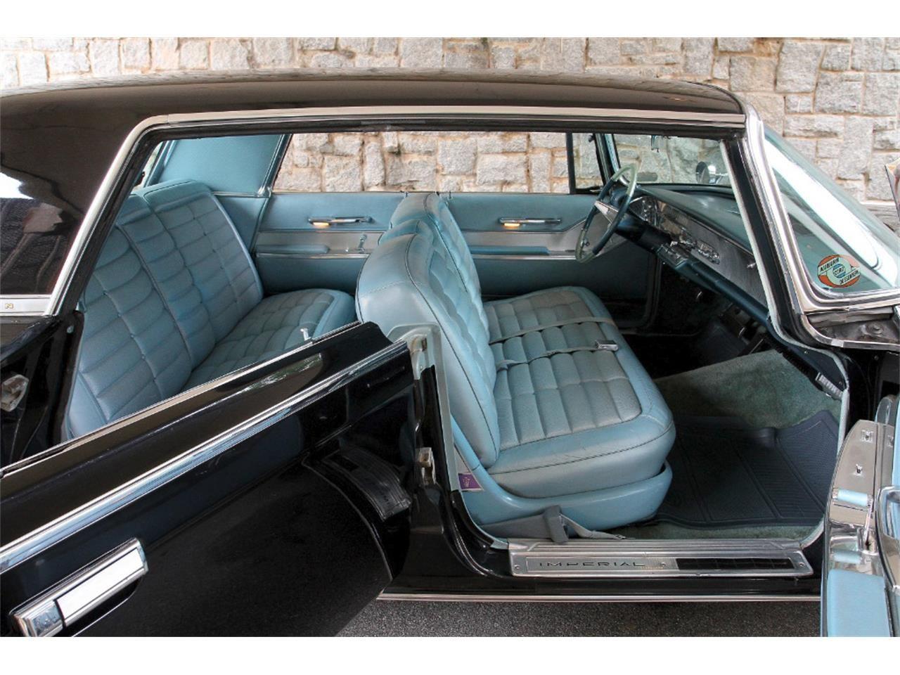 1964 Imperial Crown In Black With Med Blue Interior A True Survivor