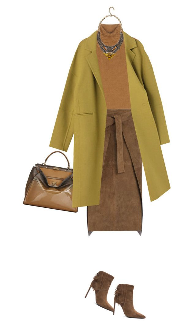 """Fall Weekend Outfit"" by junglover ❤ liked on Polyvore featuring Yves Saint Laurent, Valentino, Joseph, Fendi and DANNIJO"