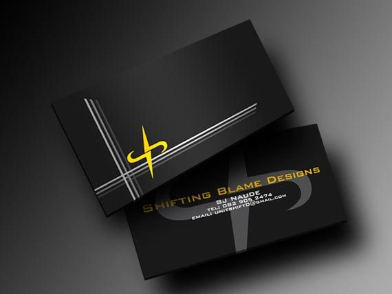 Business cards 15 yellow black color combinations places to business cards 15 yellow black color combinations reheart Gallery