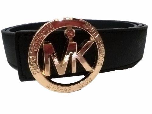 182138a77 Cinturon Hombre Importado Michael Kors Largo total: 1,25 cm Ancho: 3,2 cm  Color: Negro Hebilla Dorada