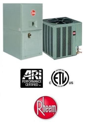 5 Ton 13 Seer Rheem Air Conditioning System 13ajn60a01