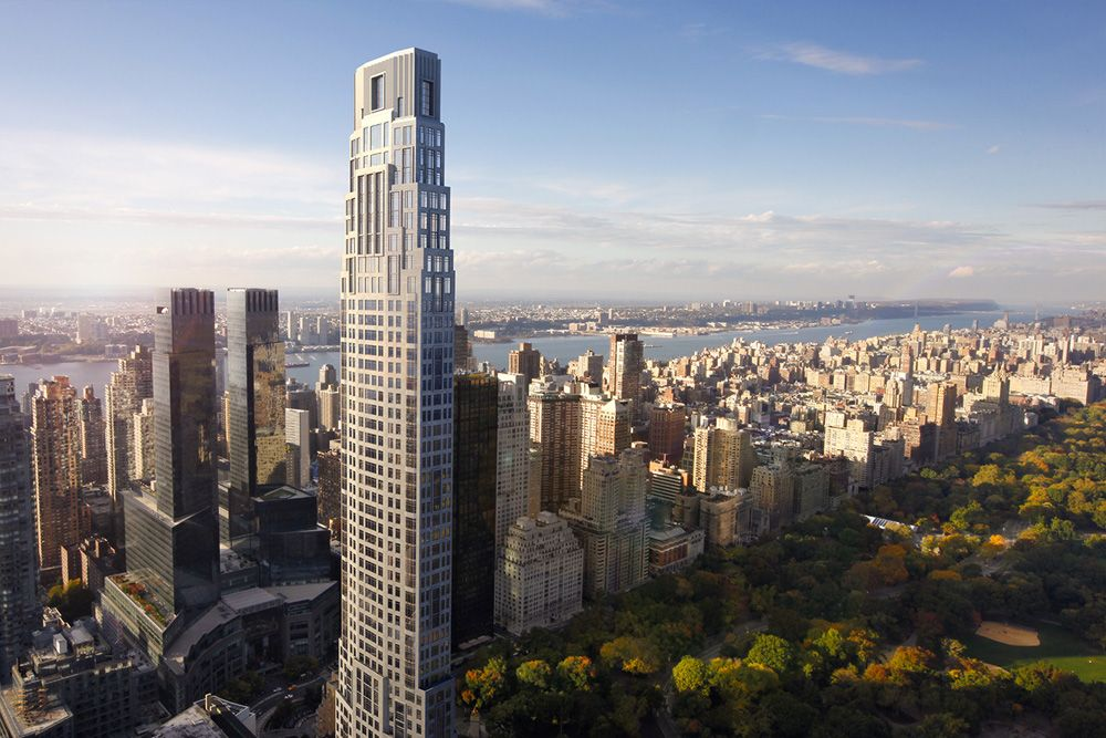 Robert A M Stern S 220 Central Park South Tower Revealed