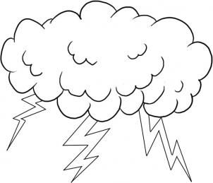 How To Draw Lightning By Dawn Coloring Pages Sun Coloring Pages