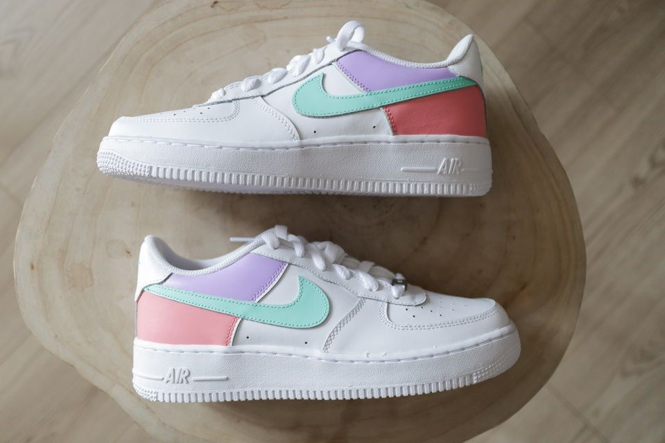 Nike Air Force 1 Color Block 1 The Custom Movement In 2020 Nike Air Shoes Nike Shoes Air Force Nike Air